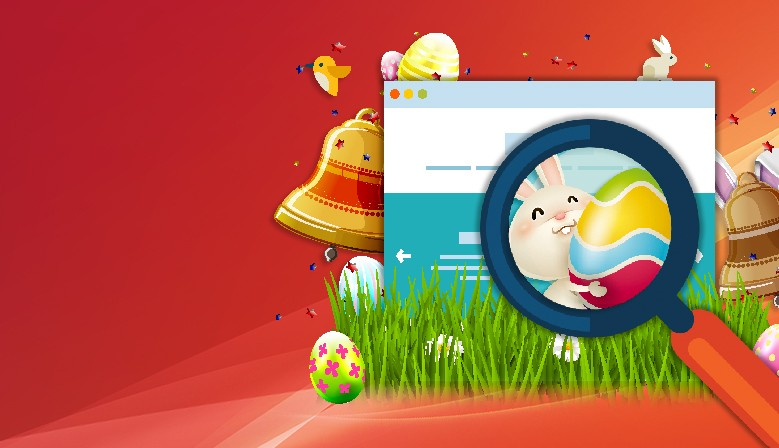 Hidden objects game : Easter