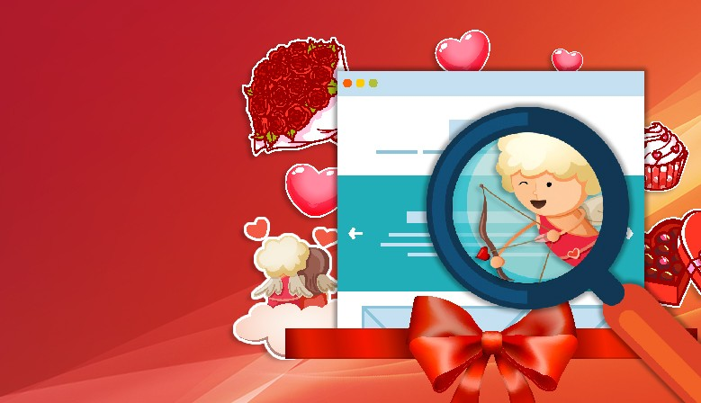 Hidden objects games : Valentine's day
